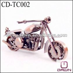 Home decoraton metal motorcycle model CD-TC002