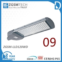 Public lighting 120W LED Street Light with Good Heatsink Excellent Lumen