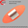 SHOCK PRICE 5-60g high quality Fe clip on wheel balance weights