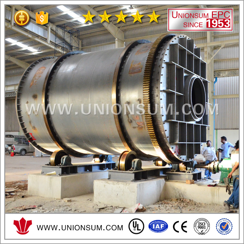 Energy Saving Lead Battery Waste Recycle Rotary Furnace