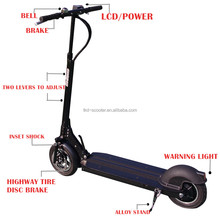 10inch wooden deck higher speed 500w foldable electric scooter