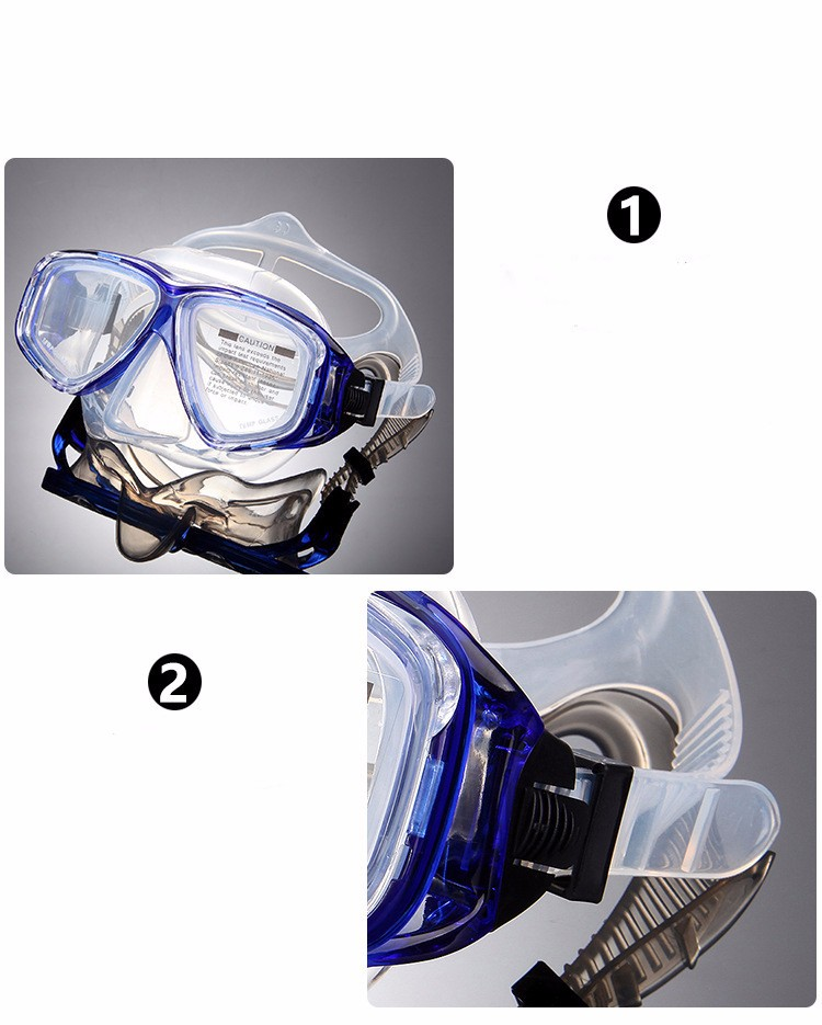 China Manufacturer high quality Diving equipment goggles