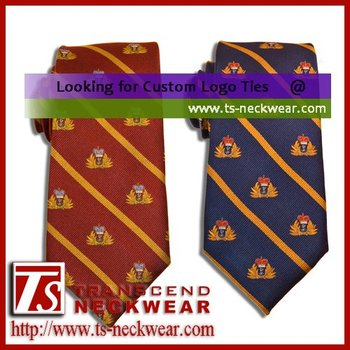 100% Silk woven Necktie for Corps