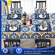 woven wholesale square plastic table cover round