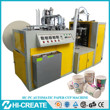 Low investment high profit counting paper cup tray convert new machine for small business