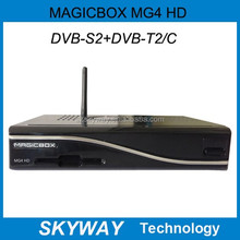 MAGICBOX MG4 HD Triple tuner mpeg-4 hd dvb-s/s2 receiver