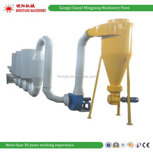 China factory CE popular Pipe sawdust drier wood sawdust drying machine 008618937187735
