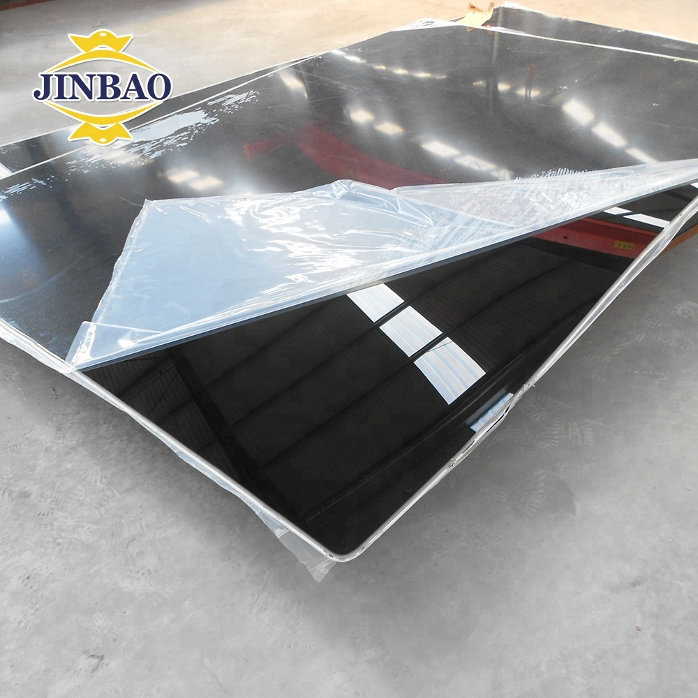 JINBAO manufacture 4x8ft wholesale <strong>plastic</strong> sheet acrylic pmma <strong>material</strong> size 1250x2450x6mm black 502 cast acrylic sheet