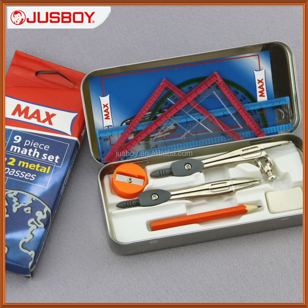 Max mathematical instruments,Max geometry box, Max math set from China