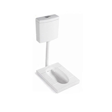 High Quality Hotel Ceramic Squat Toilet With Flush