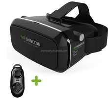 VR Shinecon high quality vr 3d glasses virtual reality 3d glasses cheap price 3d vr headsets with rohs certificate