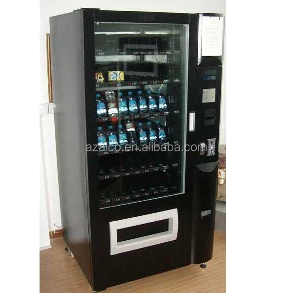2015 popular combo automated pet bottle vending machines