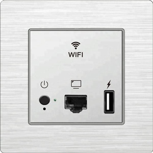 Optional Fit/Fat Working Mode Mini In-wall & Ceiling Hotel WIFI Access Point for POE Input Wireless AP/Router