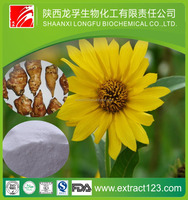 2016 Hot Selling Pure wild Quality Natural Inulin Chicory Extract / Artichoke powder