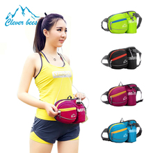 Male waterproof nylon small pockets of female Running sports multifunctional wholesale order bottle waist bags