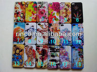 Retro idyllic flower Hard Back Phone Case Cover For Apple iPhone 4 4G 4S