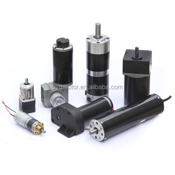 12~400V Custom Brushed High Torque Permanent Magnet DC Gear Motor