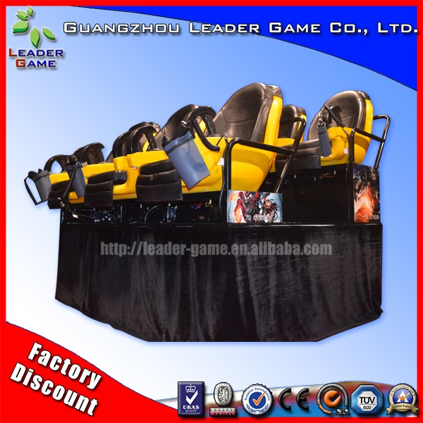 (LG-5d cinema) Leader Game 3d 4d 5d cinema films/hot sale 5d cinema 5d theater equipment