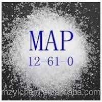 Industrial Monoammonium Phosphate MAP Ammonium Dihydrogen Phosphate 772-76-1 Industrial grade and Food Grade