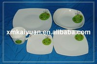 20pcs square dinner set/fine porcelain dinnerware(110-088)
