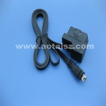 16pin obd2 to mini usb cable with good quality