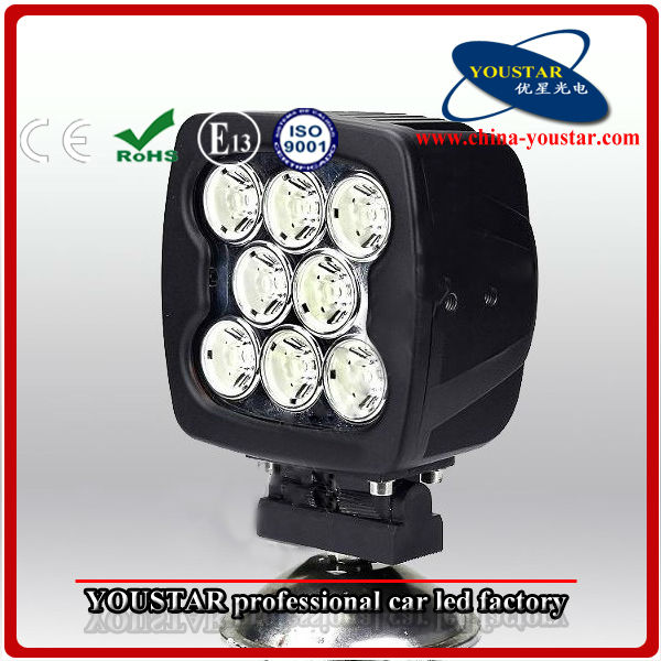 2014 NEW High Power Waterproof IP67 9-32V DC 80W Led Offroad Work Light For Tractor