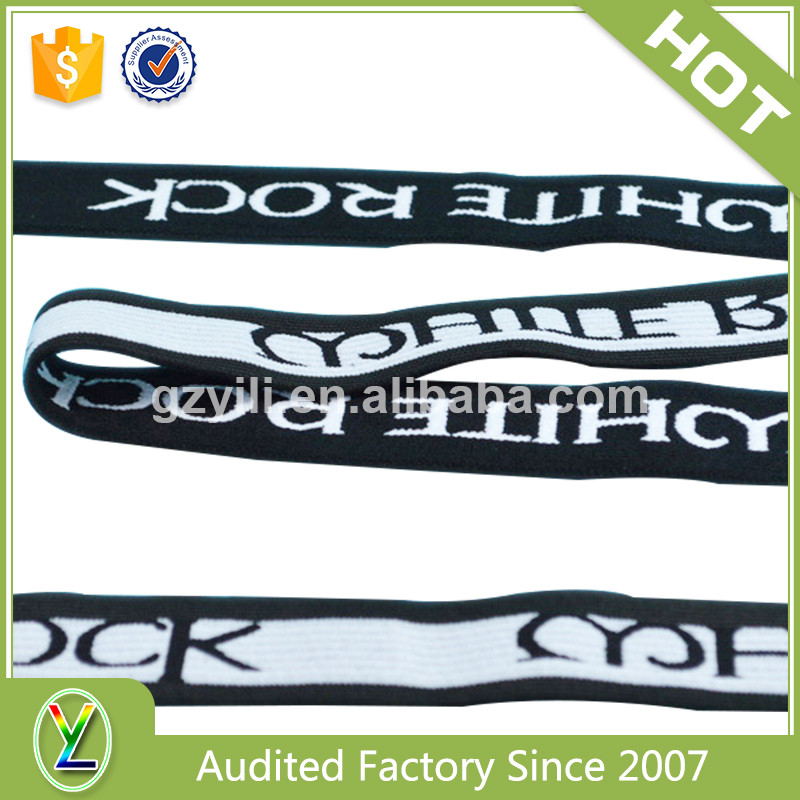 Factory direct sale jacquard underwear waistband custom
