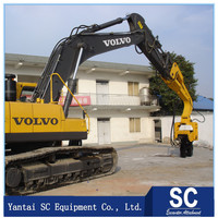 Hydraulic pile Driver/vibratory hammer for pile with 15m length