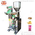 Automatic Chin Chin Peanut Sunflower Seeds Cashew Nut Filling Sealing Almond Granule Nuts Packaging Small Food Packing Machine