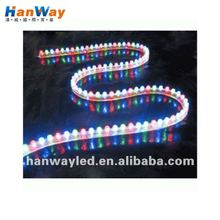 Tricolor led reel strip with silicon rubber