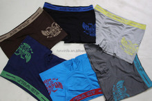Brazil men underwear hot selling highly stretchable and comfortable male boxers