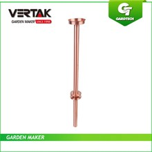 Have our own research and development department that wo can meet you different needs top quality copper support rain gauge