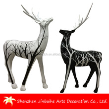 Best Factory Price Resin Sculpture Christmas Deer Decoration