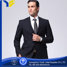 anti-static china wholesale 100% polyester 2012 black mens business suit for wedding