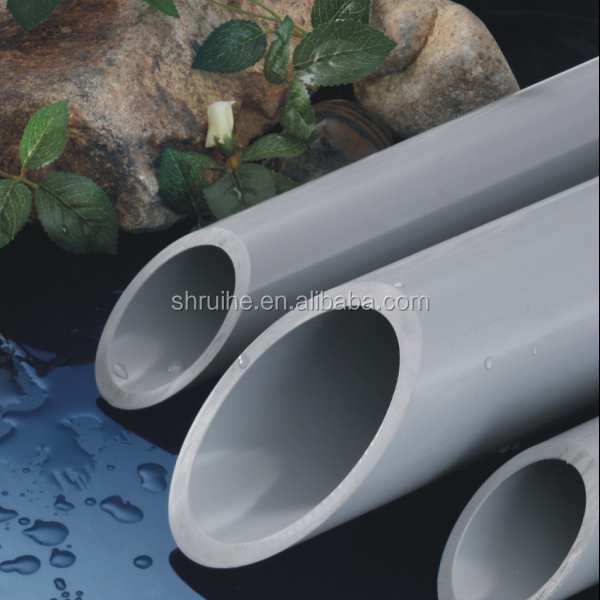 pvc types china alibaba supplier underground plastic electrical conduit