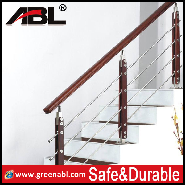 ABL stainless steel balustrade handrail for stair/tubular handrail for stairs