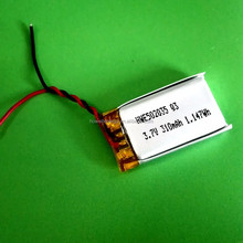 502025 3.7v 180mah lipo battery, li-polymer 3.7v 180mah with UL certification