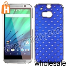 Bling Case Cover for HTC One 2 M8, Starry Sky Stars PC Hard Back Cover Case for HTC One 2 M8 Bling Case