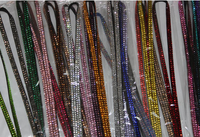 2015 Wholesale Rhinestone Crystal Wristlets Lanyard Key Chain / Cell Phone / Camera crystal lanyards