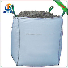 Factory direct supply side seam square type PP big bag with top open bottom flat