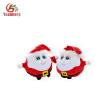 10cm plush santa claus stuffed christmas decoration toy