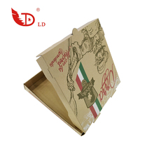 Wholesale Promotional Custom Factory Supplier Disposable Pizza Box