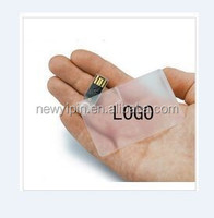 Transparent credit card USB flash drive, tansparent crystal ID card USB flash disk