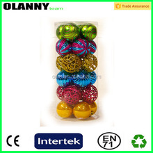 made in china cheap colorful clear plastic christmas balls