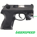 Sub-compact aiming green laser sight