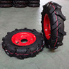 Durable Pneumatic Rubber Agricultural Wheel 4