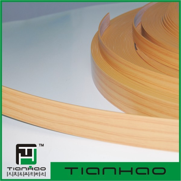 Furniture Accessory Plastic Edge Banding Tape / PVC Edge Banding
