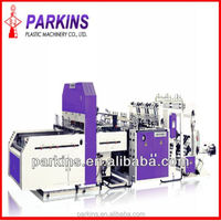 BJABP+AS model t shirt sealing polythene plastic carry bag machinery
