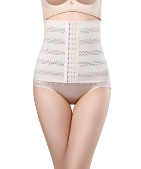 Slimming Waist Belt rubber girdle plus size waist trainer girdle shapewear tank