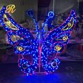 2017 New Multi color LED butterfly themed party supplies
